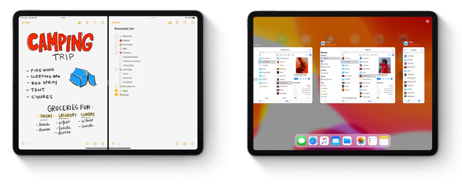 Apps in meerdere spaces